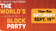 The World's Smallest Block Party, September 19